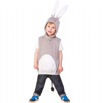 BUNNY RABBIT TABARD CHILDRENS FANCY DRESS COSTUME